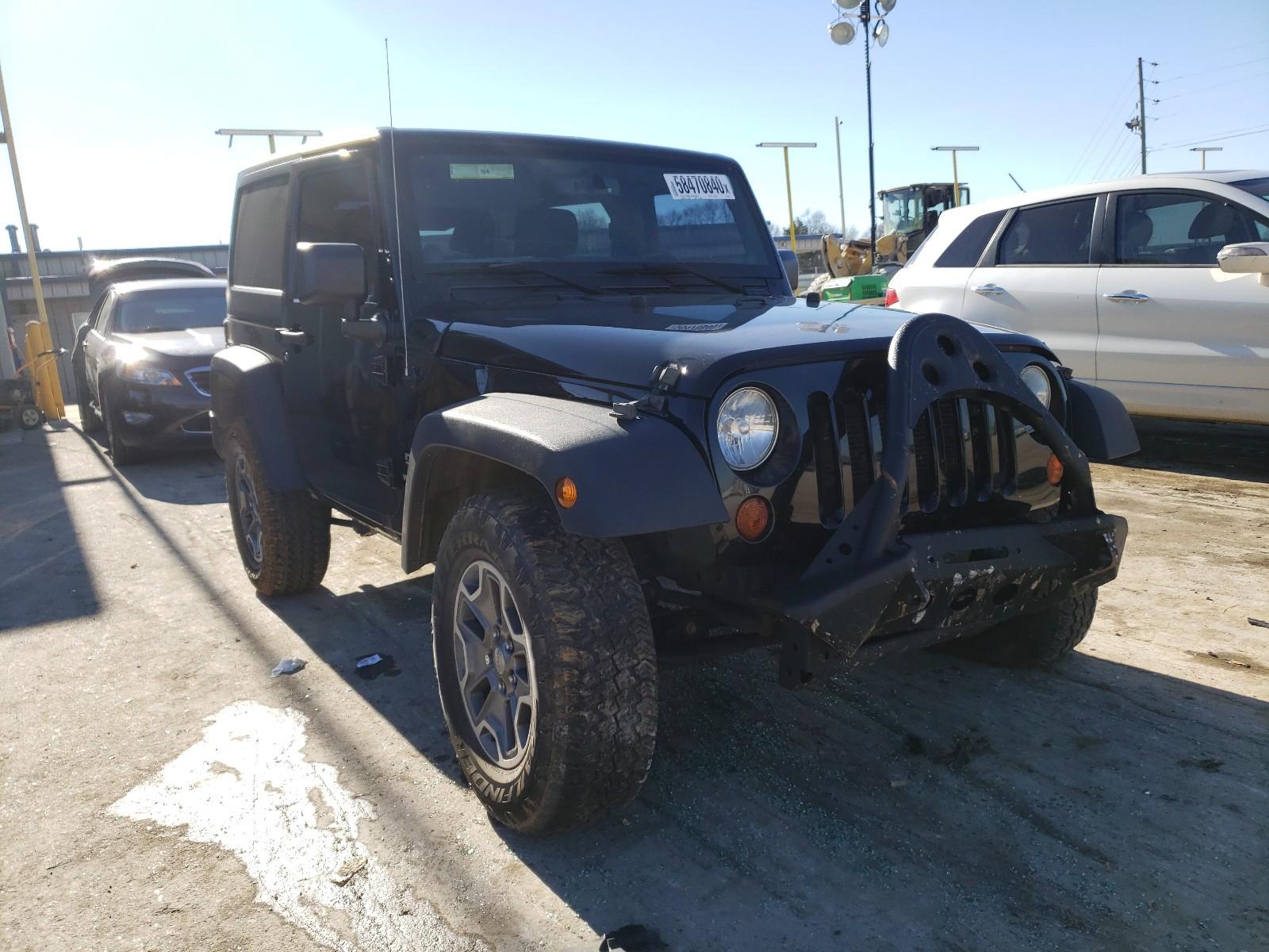 Jeep Wrangler S 2013