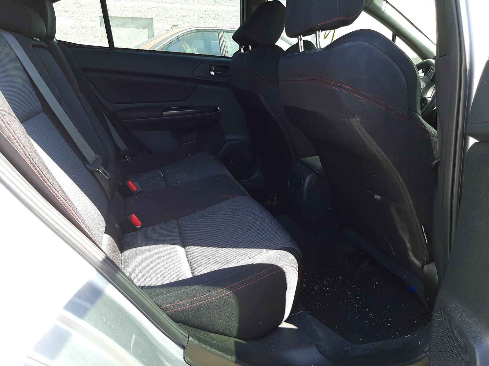 Subaru WRX 2020 VIN JF1VA1A62L9816354