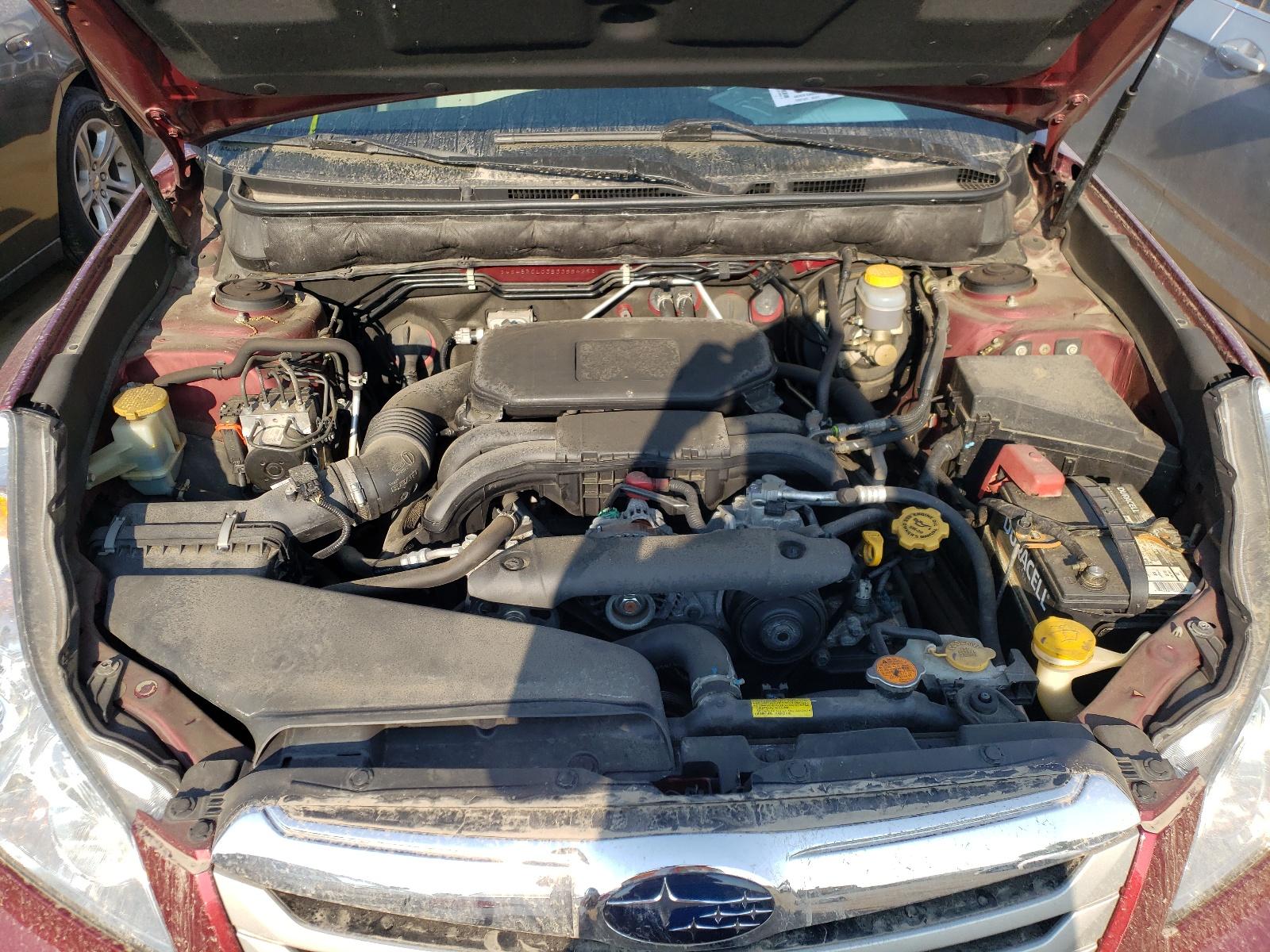 Subaru Outback 2 2011 VIN 4S4BRCLC3B3388425