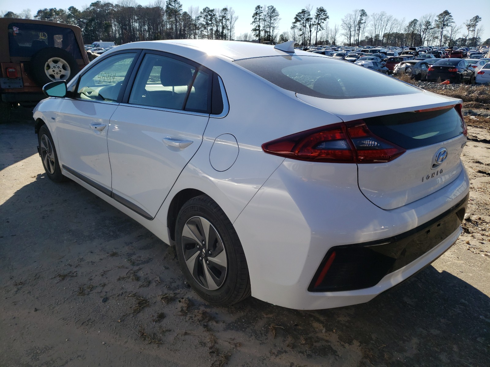 Hyundai Ioniq SEL 2019 VIN KMHC75LC1KU130811